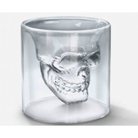 Novelty Crystal Skull Shot Glass Cu.. on Luulla