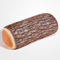 Log Head Rest | Faux Log Pillow | fredflare.com