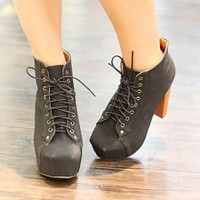 Black Drawstring Ladies Pumps Hot Sale : Wholesaleclothing4u.com