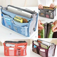 Lady Women Insert Handbag Organiser Purse