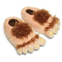 Amazon.com: Think Geek Furry Adventure Slippers: Toys & Games