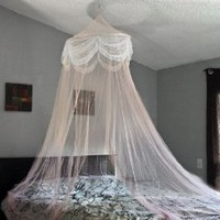 Amazon.com: Pink Princess Bed Canopy Mosquito Net Bed Netting: Home & Kitchen