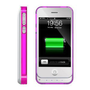 iPhone 4 4S External Extend Battery Case Cover bumper 1450mAh White