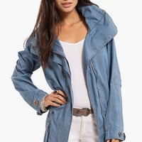 Chambray Parka $36