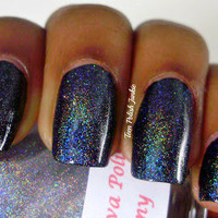 Dreamy (linear holographic topcoat) Nail Polish