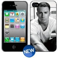 Amazon.com: CHANNING TATUM B&W iPhone 4 4s Plastic Hard Phone Cover Case: Everything Else