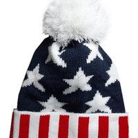 ROMWE | Old Glory Wool Cap, The Latest Street Fashion