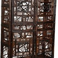 One Kings Lane - Jed Johnson Associates, Inc. - Bamboo Armoire