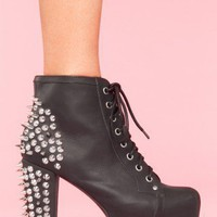 Spike Platform Boot - NASTY GAL
