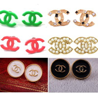 16 Styles Sweet Girl Fashion Elegant stud Earring Classic Jewelry Cute Earrings