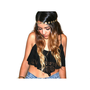 Black Lace Flowy Crop Top | VidaKush