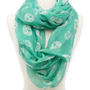 Skull &amp; Roses Infinity Scarf: Charlotte Russe
