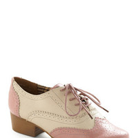 Bubble Gum Glamour Shoe | Mod Retro Vintage Flats | ModCloth.com