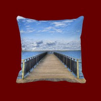 Summer Bliss Throw Pillow from Zazzle.com