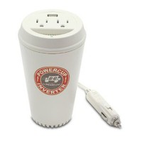 Amazon.com: PowerLine PowerCup 200/400 Watt Mobile Inverter with USB Power Port 90309: MP3 Players & Accessories