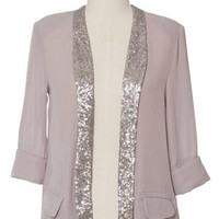 Split Silver Jacket