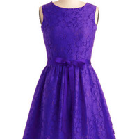 Looking Like a Million Dress in Violet | Mod Retro Vintage Dresses | ModCloth.com