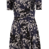 Floral slinky dress - New In Dresses - View All  - Dresses