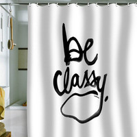 DENY Designs Home Accessories | Kal Barteski Be Classy Shower Curtain