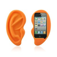 HOTER® Cute Big Ear Apple Iphone 4/4S Case