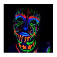 Body Paint, Glow in the dark, FOLLOW ME! @abbazaba