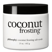 Philosophy Coconut Frosting Salt Scrub, 23 Ounce