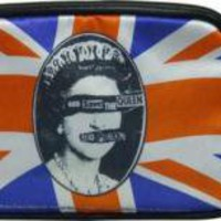 ROCKWORLDEAST - Sex Pistols, Cosmetic Bag, God Save The Queen