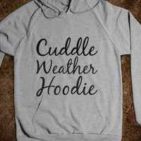 cuddle weather hoodie - glamfoxx.com
