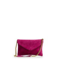 Women's new arrivals - bags - Invitation clutch in suede - J.Crew