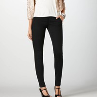 AEO Women's Tuxedo Jegging (True Black)