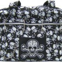 ROCKWORLDEAST - Skull Purse, Shoulder Bag, Nitro Skulls