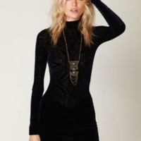 Free People Le Deux Velvet Tunic at Free People Clothing Boutique