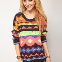 Wwul Zimmi Knit Jumper at asos.com
