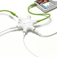 Belkin Rockstar Multi Headphone Splitter