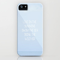 Live iPhone Case by Galaxy Eyes | Society6