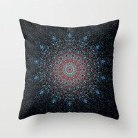 MandalA Throw Pillow by Mnika  Strigel	3 SIZES  **** FREE SHIPPING USE THE CODE ON my THINGS I CReATE bord