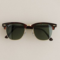 Men&#x27;s accessories - necessary luxuries - Ray-Ban?- Clubmaster?- sunglasses - J.Crew