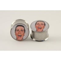 Patrick Bateman Plugs by Plug-Club
