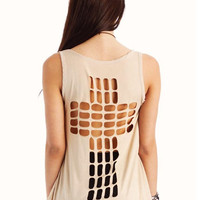Cut-out Cross Tank