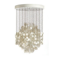 Heal&#x27;s | Verpan Fun Mother Of Pearl Hanging 1 Cluster Pendant Light &gt; Pendants