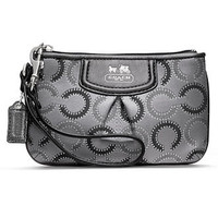 COACH MADISON DOTTED OP ART SMALL WRISTLET - Wristlets - Handbags & Accessories - Macy's