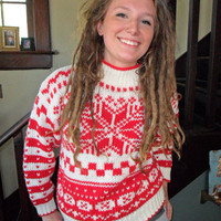 Ugly Christmas Bad Holiday 80's Sweater by theenula on Etsy