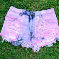 Highwaisted Hipster Shorts