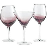 Product Details - Purple Crackle Stemware