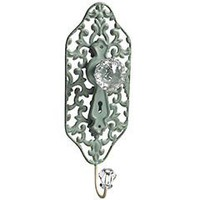 Product Details - Blue Scroll Wall Hook