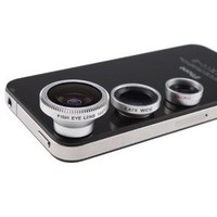 Amazon.com: Wide+macro+180fish Eye 3-in-1 Lens Conversion for Iphone 4 4s 3 3gs Ipad 2 Ipod: Everything Else