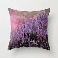 Calluna Throw Pillow by Angela Bruno | Society6