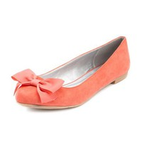 Bow-Front Ballet Flat: Charlotte Russe