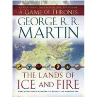 Game of Thrones Lands of Ice and Fire Book (Paperback)