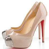 Christian Louboutin Nude Maggie 140mm Pumps